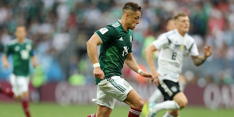 Chicharito World Cup Mexico Germany