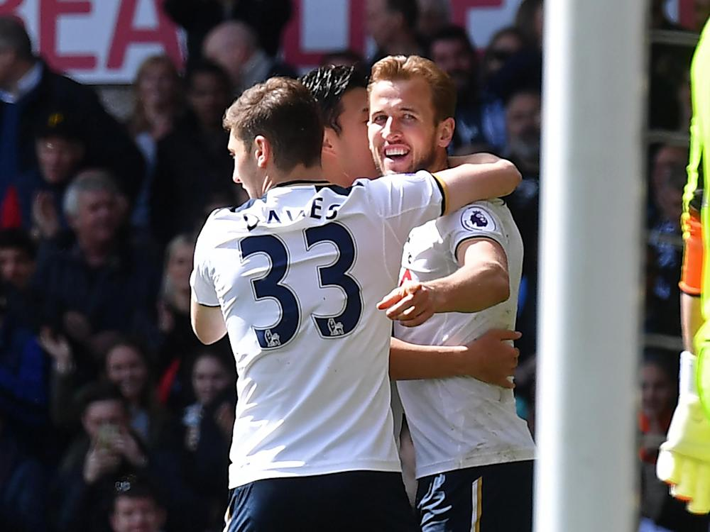 Kane is in a confident mood ahead of Saturday's Wembley semi-final: Getty