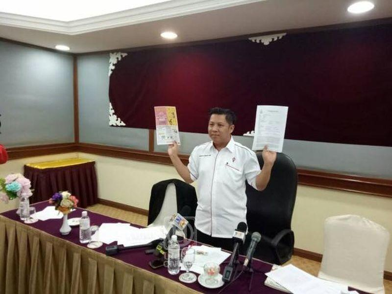 Amran Ahmad said that he had expected the expulsion after alleging that DAP had spread malicious propaganda against Barisan Nasional. — Picture courtesy of Facebook/Mohd Khalil Abu Hassan