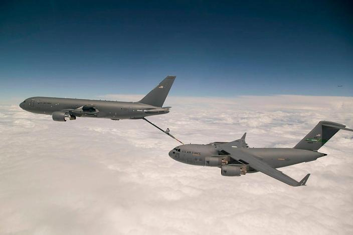 KC-46A and C-17