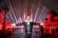 FILE PHOTO: French DJ David Guetta throws a charity concert in Paris to mark New Year's Eve