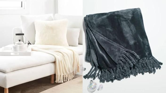 Best affordable gifts that look expensive: Blish Plush Throw