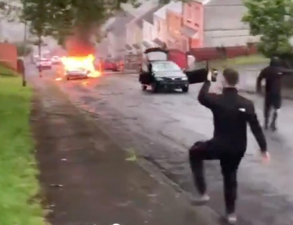 Police have launched an investigation into the violence and urged people with information to come forward. (Wales News)