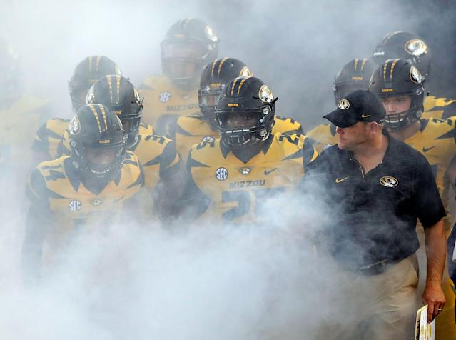 Missouri is now ineligible for postseason play in 2019. (Photo by Jamie Squire/Getty Images)