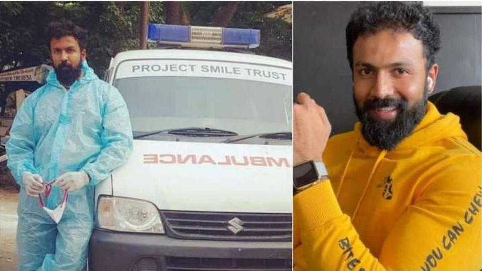 Kannada actor Arjun Gowda becomes ambulance driver for COVID-19 patients