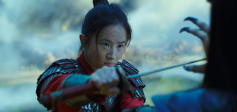 "Yifei Liu stars as the title warrior of Disney's live-action redo of ""Mulan."""