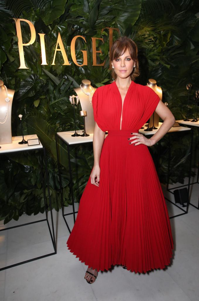 <p>Kate Beckinsale at the Weinstein Company party (Photo: Getty Images) </p>