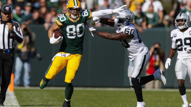 Studs and duds from Packers' 42-24 win over Raiders in Week 7