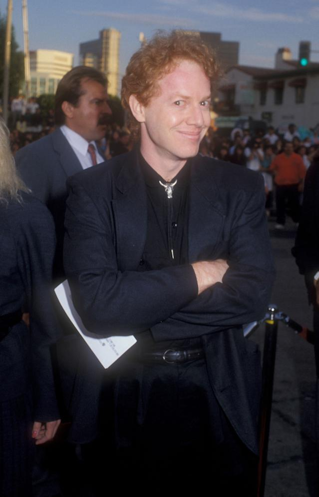 """Danny Elfman during """"Batman"""" Los Angeles Premiere at Mann Village theater in Westwood, California, United States. (Photo by Barry King/WireImage)"""