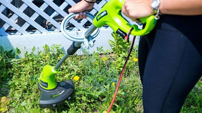 This string trimmer is the best one we've ever tested.