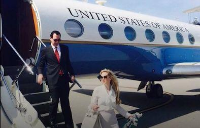 """Steve Mnuchin's travel habits<a href=""""https://www.washingtonpost.com/business/economy/treasury-inspector-general-to-review-mnuchin-flight-to-ft-knox/2017/08/31/d9e122d4-8eb2-11e7-91d5-ab4e4bb76a3a_story.html?utm_term=.61cc6d5d32fc"""" target=""""_blank"""">came under official scrutiny</a>in August after his wife, Louise Linton, posted a photograph to Instagram highlighting the luxury designers she was wearing as the couple descended from a government plane they took to Kentucky."""