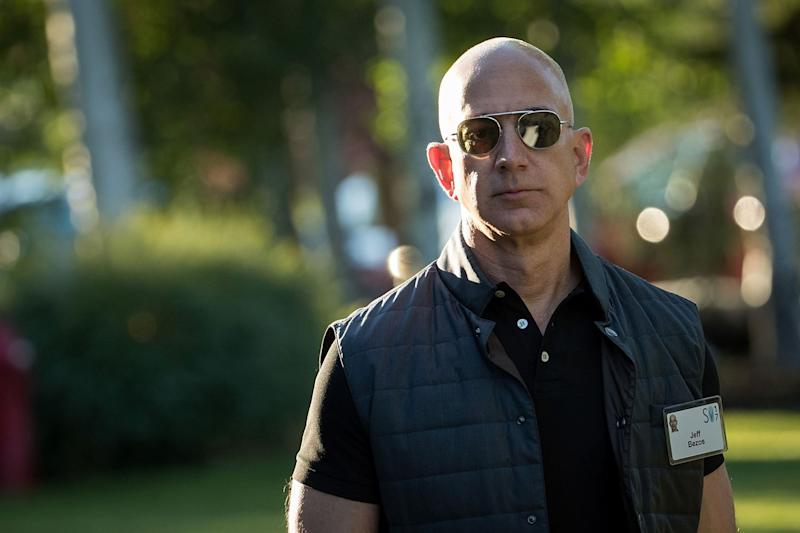 Jeff Bezos is already the world's richest person: Drew Angerer/Getty
