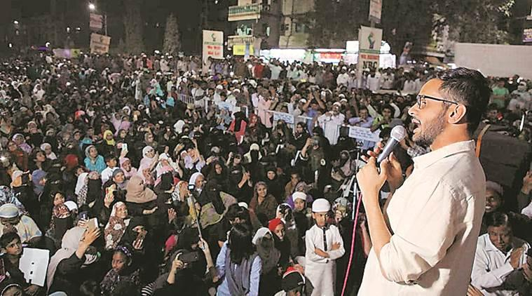 umar khalid in pune, shaheen bagh, shaheen bagh protests, caa protests delhi, caa protests pune, pune city news