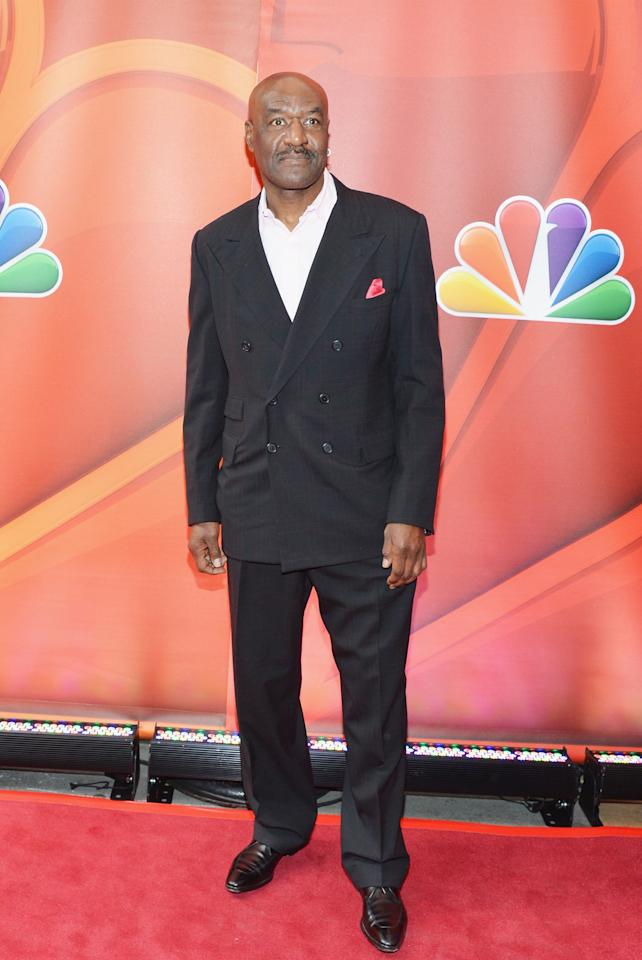 NEW YORK, NY - MAY 13:  Actor Delroy Lindo attends 2013 NBC Upfront Presentation Red Carpet Event at Radio City Music Hall on May 13, 2013 in New York City.  (Photo by Slaven Vlasic/Getty Images)
