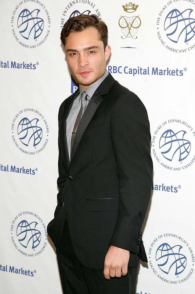 Ed Westwick turns 24 Andy Kropa/Getty Images - June 23, 2011