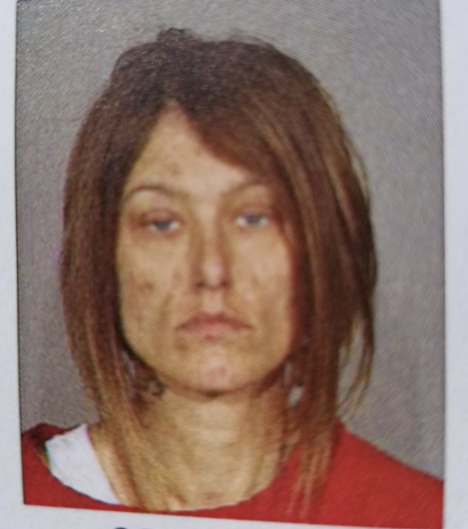 Ginny see in one of her many mugshots. Source: King County Jail/KATU