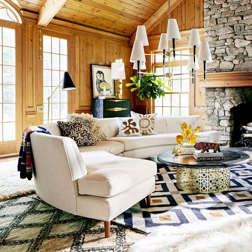"<p>You want a <a href=""https://www.housebeautiful.com/shopping/furniture/g22716476/best-sofas-at-every-price/"" target=""_blank"">chic sofa</a>, but you also want it to be the right couch for you and your family—or you and all the friends you're always inviting over. That means you need to invest in a seating arrangement that <em>everyone</em> can cozy up on for visits and movie nights. A large sectional can do the trick, you just have to find the right one for you and your home's decor.</p><p>Maybe you want a deep red velvet sofa, a curved sectional that feels super high-end, an oversized leather option, or a plush, down-filled couch you can't wait to sprawl out on after a long day. In any case—no matter what you're looking for—you're covered with these stylish sectional sofas, from high-end picks to <a href=""https://www.housebeautiful.com/shopping/furniture/g23610913/walmart-sofas-couches/"" target=""_blank"">budget buys</a> for under $1,000. All that's left to do is grab some throw pillows and <a href=""https://www.housebeautiful.com/shopping/home-accessories/g21721676/coziest-throw-blankets/"" target=""_blank"">a blanket or two</a>, queue up your Netflix account, and get to relaxing. </p>"