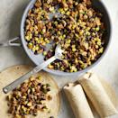 <p>Having a stash of flavorful bean burritos in your freezer means you'll always have a satisfying plant-based meal ready for a grab-and-go breakfast on a busy morning or to take to the campsite for an easy campfire meal. Our vegan breakfast filling--made with tofu and prepared to mimic scrambled eggs--is tossed with beans, veggies and salsa for a delicious and ultra-satisfying meal.</p>