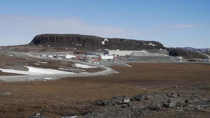 The Hope Bay gold mine on June 8, 2017. The Nunavut government is reporting seven presumptive positive cases at the mine, which is 125 kilometres southwest of Cambridge Bay, Nunavut. (Credit: CBC/Submitted by Alex Buchan/TMAC)