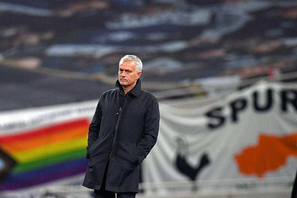 Jose Mourinho expects a tough game against Burnley (AFP via Getty Images)