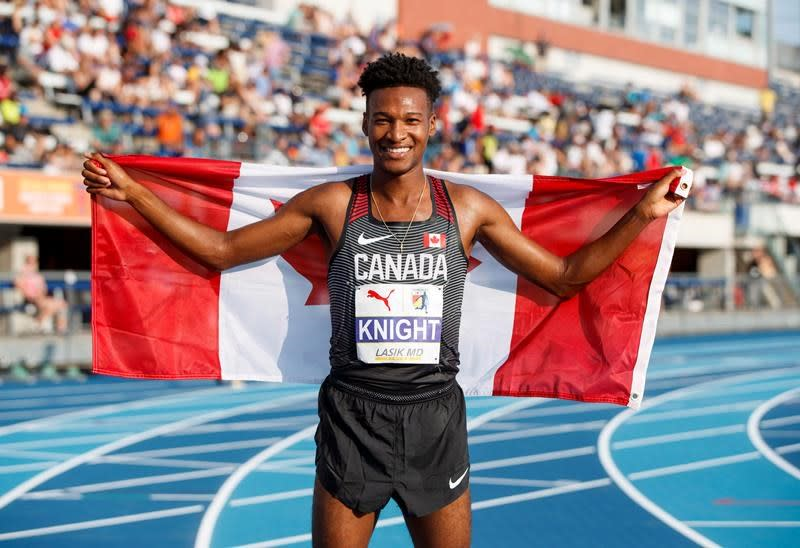 Toronto's Justyn Knight sets Canadian indoor record in men's 1,500 metres
