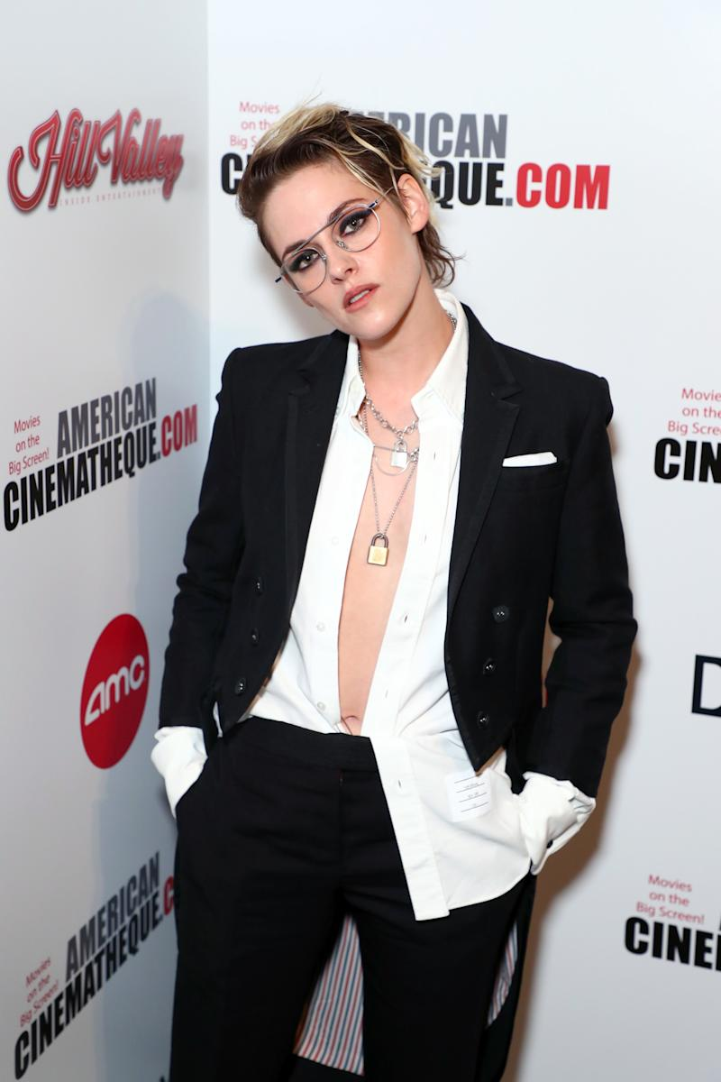 Kristen Stewart attends the 33rd American Cinematheque Award Presentation Honoring Charlize Theron in Beverly Hills, California. (Photo by Joe Scarnici/Getty Images for American Cinematheque)