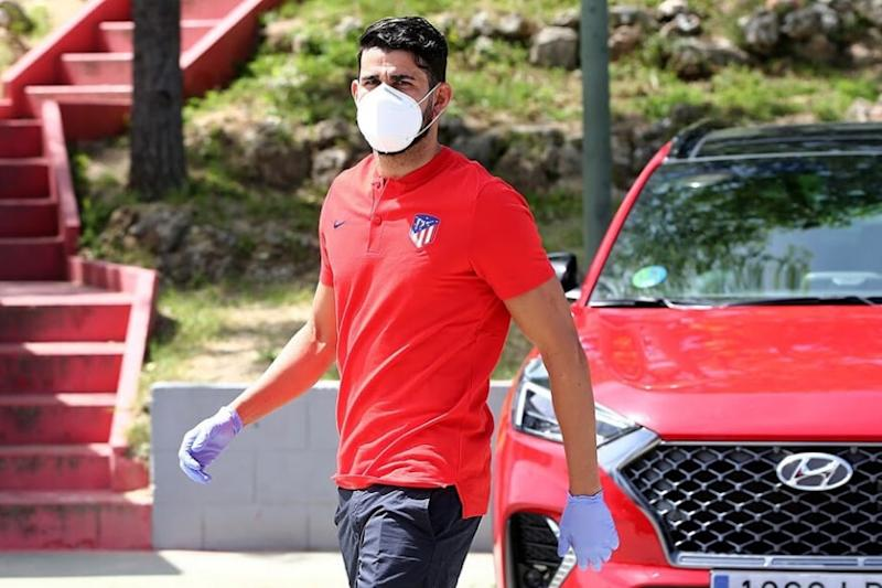 Atletico Madrid's Diego Costa Appears in Court to Settle Tax Fraud Case