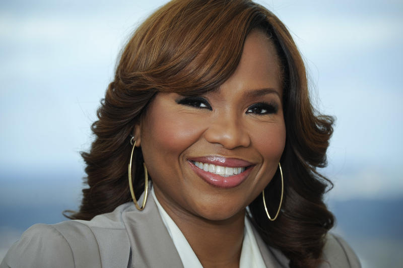 "This March 25, 2013 photo shows Mona Scott -Young, creator of the VH1 reality show ""Love & Hip Hop"" in Atlanta. ""Love & Hip-Hop"" is broken up into two different shows _ one based in New York and another in Atlanta. Each show primarily focuses on six women and the supporting cast members of men who are connected to the hip-hop industry, following on their personal lives and career. (AP Photo/John Amis)"
