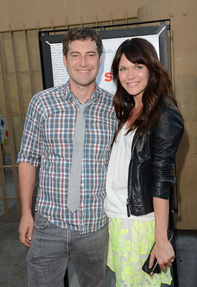 HOLLYWOOD, CA - JULY 19:  Actors Mark Duplass and Katie Aselton attend the 'Ruby Sparks' Los Angeles premiere held at American Cinematheque's Egyptian Theatre on July 19, 2012 in Hollywood, California.  (Photo by Jason Merritt/Getty Images)