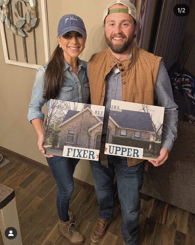 <p>We're obsessed with these lookalike Chip and Joanna costumes from <em>Fixer Upper. </em></p>