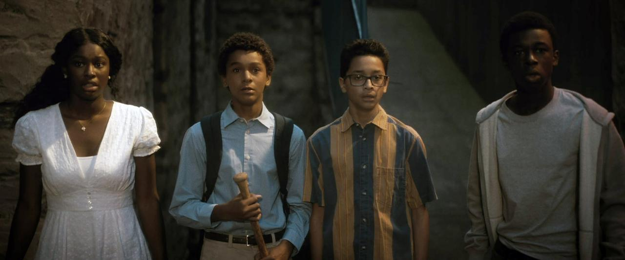 """<p>Blending old-school horror with some satirical comedy, a group of Bronx teenagers from the Bronx band together when they discover vampires trying to literally and figuratively drain the life out of their neighborhood. Even vampires are no match for Bronx kids!</p> <p><a href=""""http://www.netflix.com/title/80998174"""" target=""""_blank"""" class=""""ga-track"""" data-ga-category=""""internal click"""" data-ga-label=""""http://www.netflix.com/title/80998174"""" data-ga-action=""""body text link"""">Watch <b>Vampires vs. the Bronx</b> on Netflix</a>.</p>"""