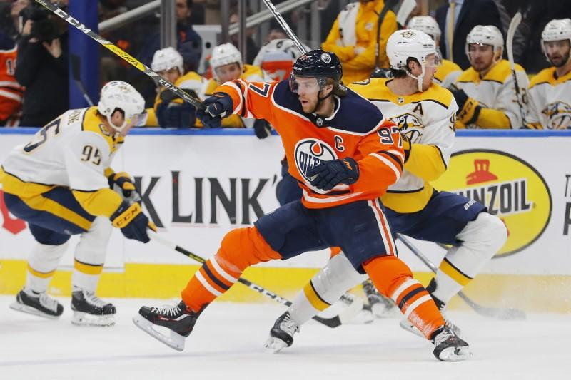 NHL notebook: Oilers star McDavid (quad) out 2-3 weeks