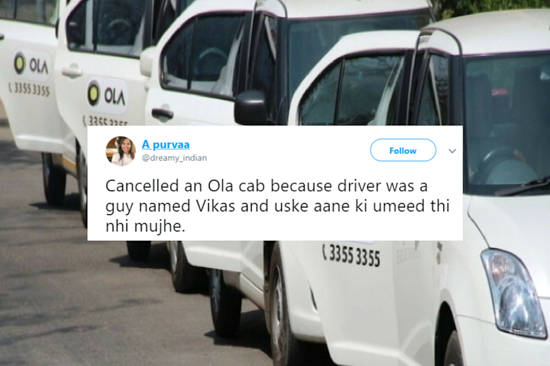 'Cancelled Ola Ride as Driver Was ...,' Controversial Tweet Triggers Hilarious Memes