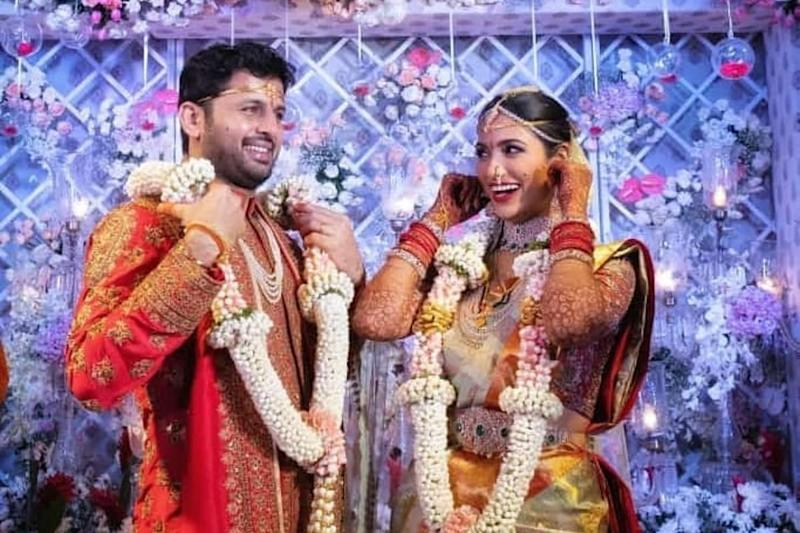 In Pics: Nithiin and Shalini Exchange Wedding Wows in Hyderabad