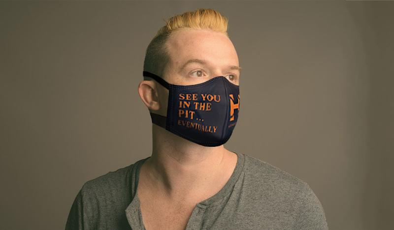This Face Mask Sums Up What Every Music Fan is Thinking Now