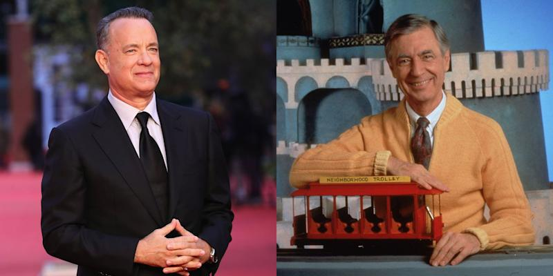 First Look at Tom Hanks as Mister Rogers Released
