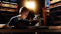 """<p><strong>Paramount+'s Description:</strong> """"Racing to uncover the secrets of a sunken ship that may hold a vast fortune - but also an ancient curse - Tintin and his loyal dog Snowy embark on an action-packed journey around the world that critics are calling fun for the whole family.""""</p> <p><a href=""""https://www.paramountplus.com/movies/adventures-of-tintin/I7SP8DQxqMezUId37ZMZaYNAE8ZOwW3F/"""" class=""""link rapid-noclick-resp"""" rel=""""nofollow noopener"""" target=""""_blank"""" data-ylk=""""slk:Watch The Adventures of TinTin on Paramount+ here!"""">Watch <strong>The Adventures of TinTin</strong> on Paramount+ here!</a></p>"""