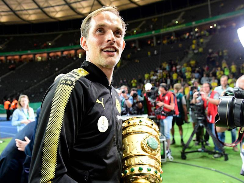 Thomas Tuchel left Dortmund after lifting the DFB Pokal (Getty)