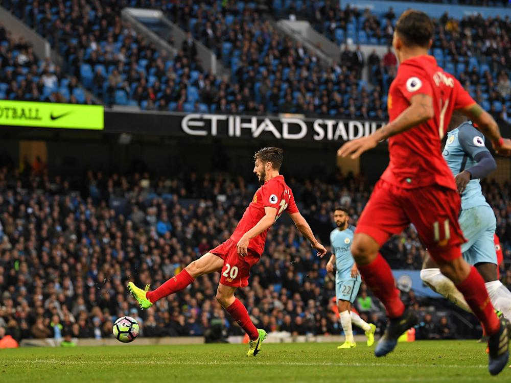 Lallana spurned a fine opportunity to win the game: Getty