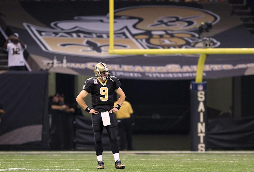 Shannon Sharpe said Drew Brees won't get the respect of his teammates again. (Photo by Matthew Sharpe/Getty Images)