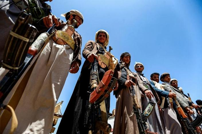 Sanaa remains under the control of the Iran-aligned Huthis, which draw on the support of northern tribesmen (AFP Photo/Mohammed HUWAIS)