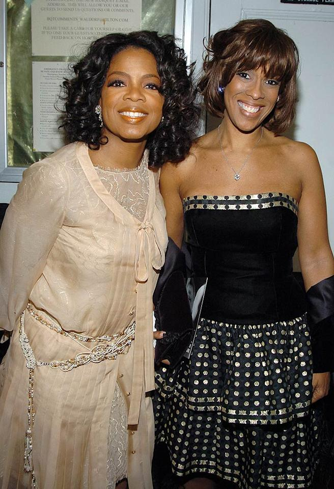 "Oprah Winfrey and gal pal Gayle King are inseparable. Dimitrios Kambouris/<a href=""http://www.wireimage.com"" target=""new"">WireImage.com</a> - December 5, 2004"