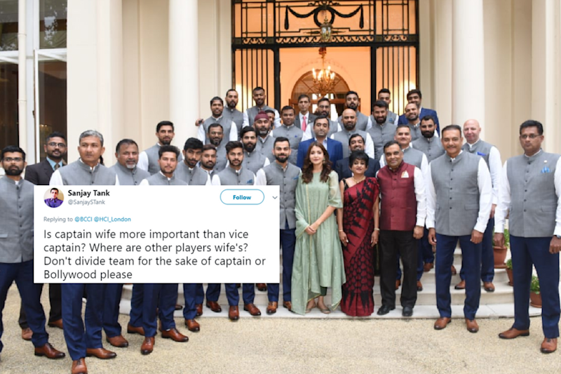 Anushka Sharma Breaks Silence on Being Questioned for Photo with Team India