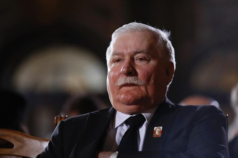 Lech Walesa served as Poland's president from 1990 to 1995 (AFP Photo/Markus Schreiber)