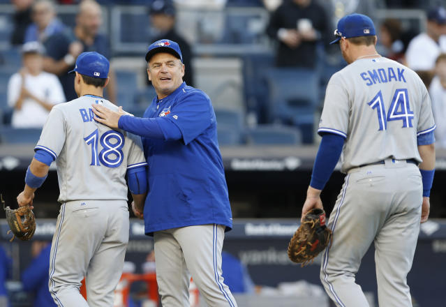 Rogers has owned 100 percent of the Blue Jays since 2004. (AP Photo/Kathy Willens)