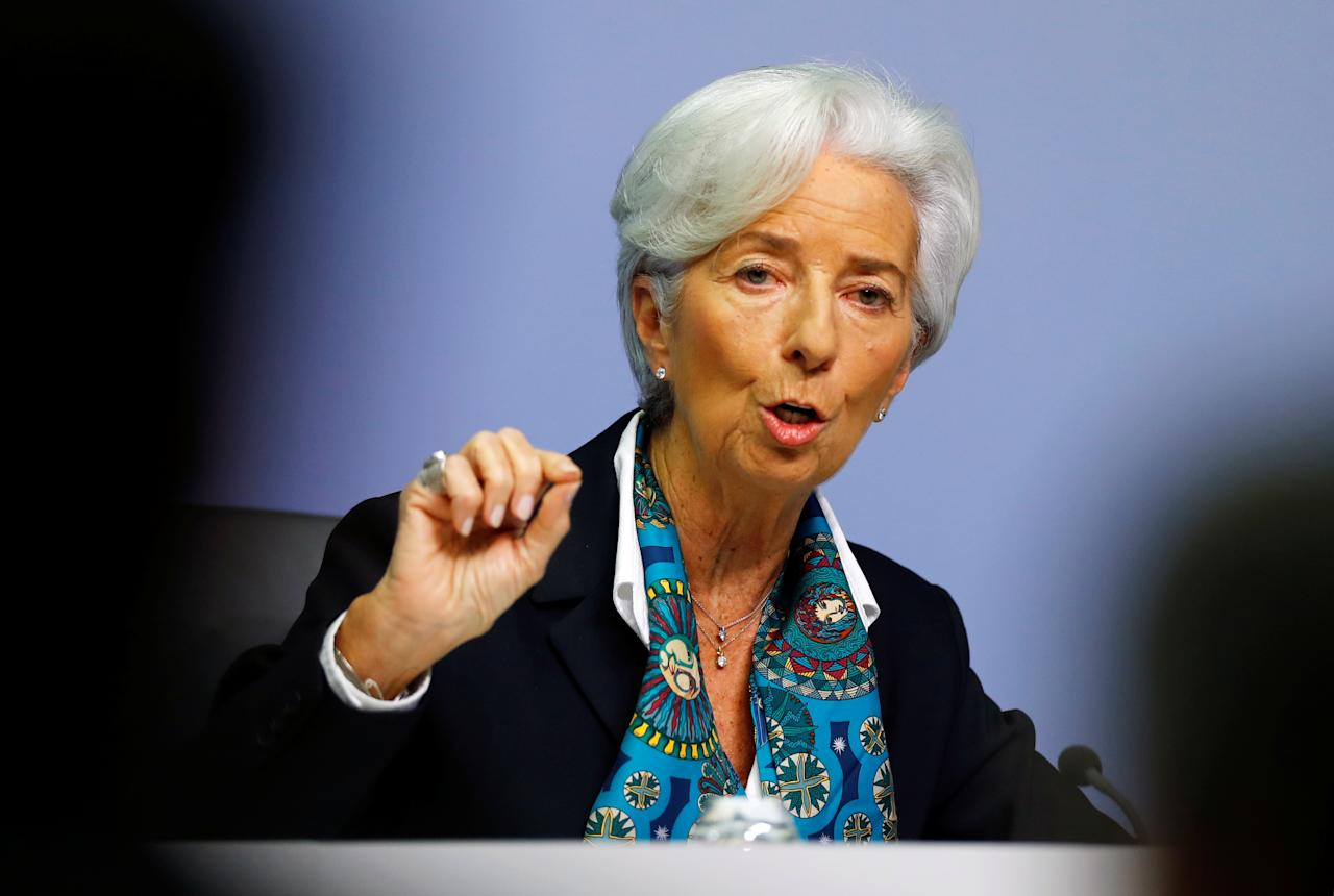 French politician and lawyer serving as President of the European Central Bank, since November 2019. Prior to this appointment, she served as Chair and Managing Director (MD) of the International Monetary Fund (IMF), between July 2011 and November 2019.
