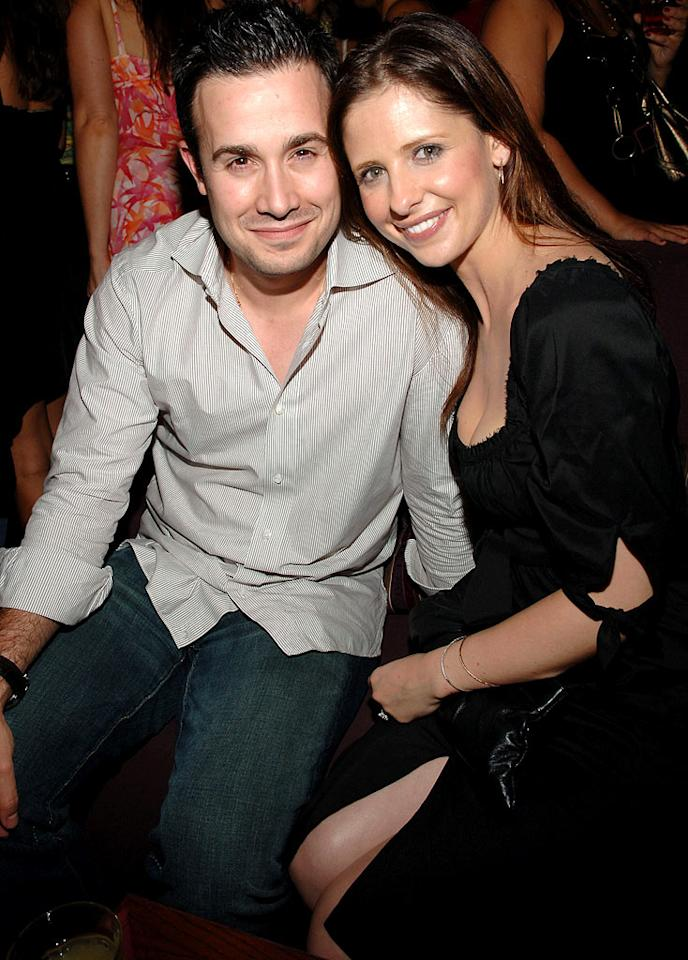"Freddie Prinze Jr. and Sarah Michelle Gellar married young, but are still going strong. Jamie McCarthy/<a href=""http://www.wireimage.com"" target=""new"">WireImage.com</a> - July 12, 2006"