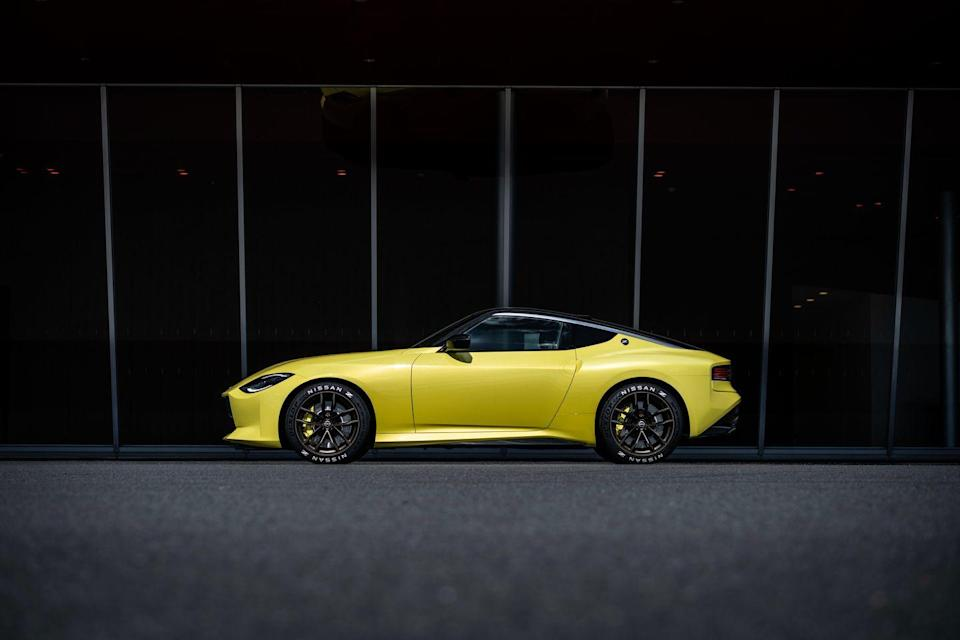 """<p>We're finally getting a new Z, as previewed by a <a href=""""https://www.caranddriver.com/news/a34016940/nissan-z-proto-revealed/"""" rel=""""nofollow noopener"""" target=""""_blank"""" data-ylk=""""slk:production-intent prototype"""" class=""""link rapid-noclick-resp"""">production-intent prototype</a> revealed earlier this year. It's powered by a twin-turbo V-6 with a six-speed manual transmission. Think of the Z Proto's design as a melting pot of previous Zs. The headlights are inspired by the 240Z's and the taillights by 300ZX's, and there's even a """"Fairlady Z"""" badge atop the trunk lid. Arriving sometime next year, the new sports car—likely to be called 400Z—should be worth the wait. </p><p><a class=""""link rapid-noclick-resp"""" href=""""https://www.caranddriver.com/nissan/400z"""" rel=""""nofollow noopener"""" target=""""_blank"""" data-ylk=""""slk:Read More"""">Read More</a></p>"""