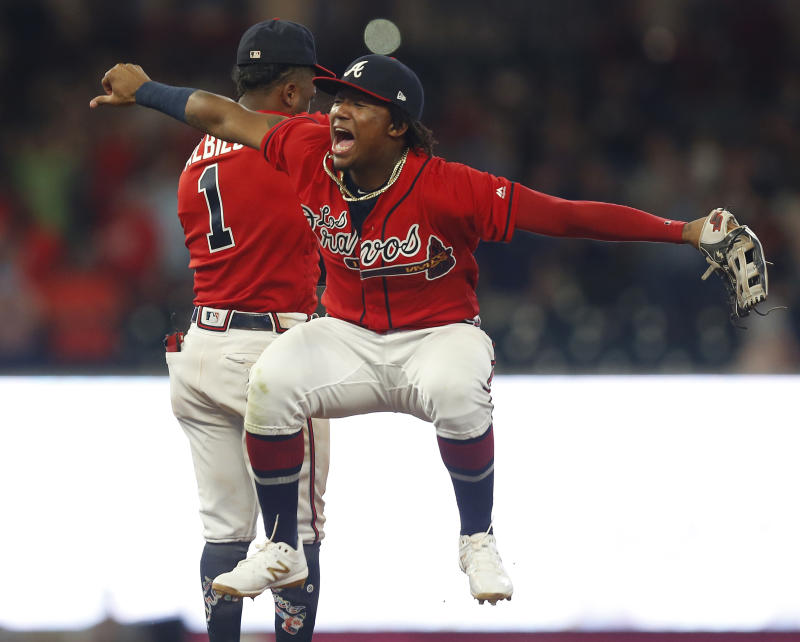 The Atlanta Braves are starting to run away in the NL East. (Photo by Mike Zarrilli/Getty Images)