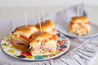 """<p>The ham sandwich is a seriously underrated part of the Easter dinner spread. Take it to the next level with these superstar sliders. Trust us, <a href=""""https://www.thedailymeal.com/sandwich-recipes-better-than-mom-made-gallery?referrer=yahoo&category=beauty_food&include_utm=1&utm_medium=referral&utm_source=yahoo&utm_campaign=feed"""" rel=""""nofollow noopener"""" target=""""_blank"""" data-ylk=""""slk:this ain't your mama's sandwich"""" class=""""link rapid-noclick-resp"""">this ain't your mama's sandwich</a>.</p> <p><a href=""""https://www.thedailymeal.com/easy-ham-and-cheese-sliders?referrer=yahoo&category=beauty_food&include_utm=1&utm_medium=referral&utm_source=yahoo&utm_campaign=feed"""" rel=""""nofollow noopener"""" target=""""_blank"""" data-ylk=""""slk:For the Ham and Cheese Sliders recipe, click here."""" class=""""link rapid-noclick-resp"""">For the Ham and Cheese Sliders recipe, click here.</a></p>"""